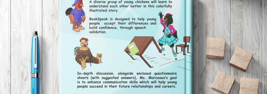 BeakSpeak, A Fable & Language Workbook by retired teacher & author Peggy Marceaux